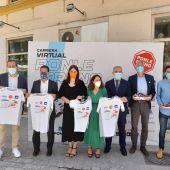 Un momento de la presentación de la Carrera Virtual Ponle Freno en Málaga