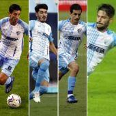 Chavarría, Jozabed, Matos y Caye Quintana podrían continuar en Málaga la próxima temporada