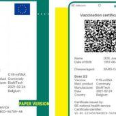 La Comunitat Valenciana emite a partir de este lunes el certificado COVID Digital de la Unión Europea
