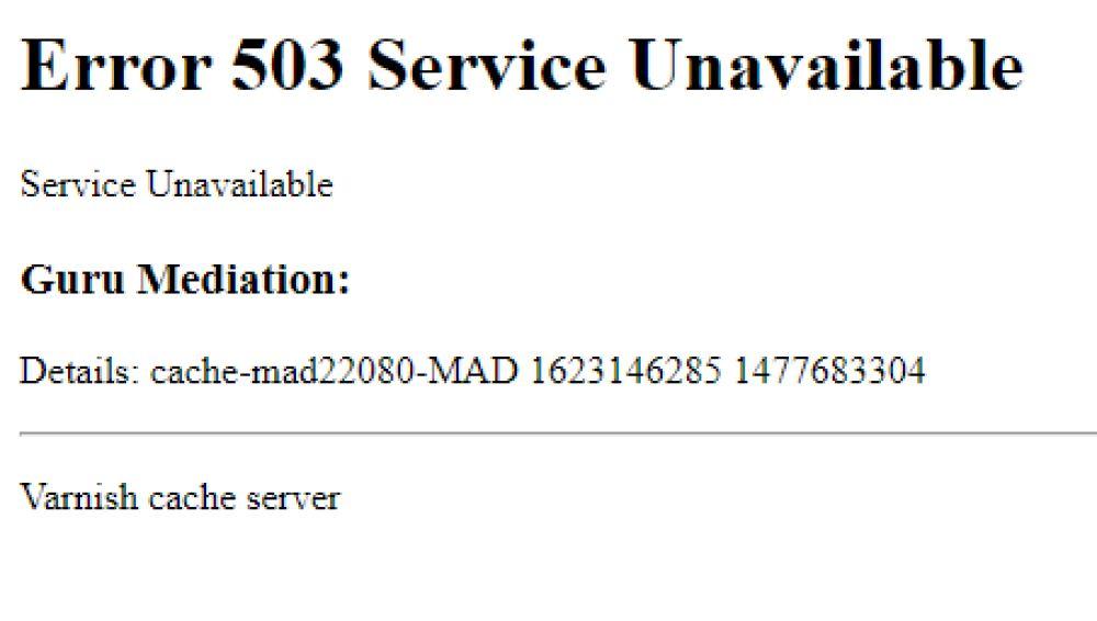 Un fallo en el servidor Fastly provoca una caída mundial de webs