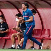 Christian Toro, técnico del Sevilla femenino.