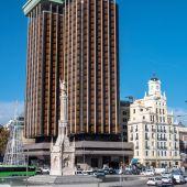 Plaza de Colón en Madrid