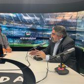 José Ramón de la Morena entrevista al ministro de Cultura y Deportes, José Manuel Rodríguez Uribes.