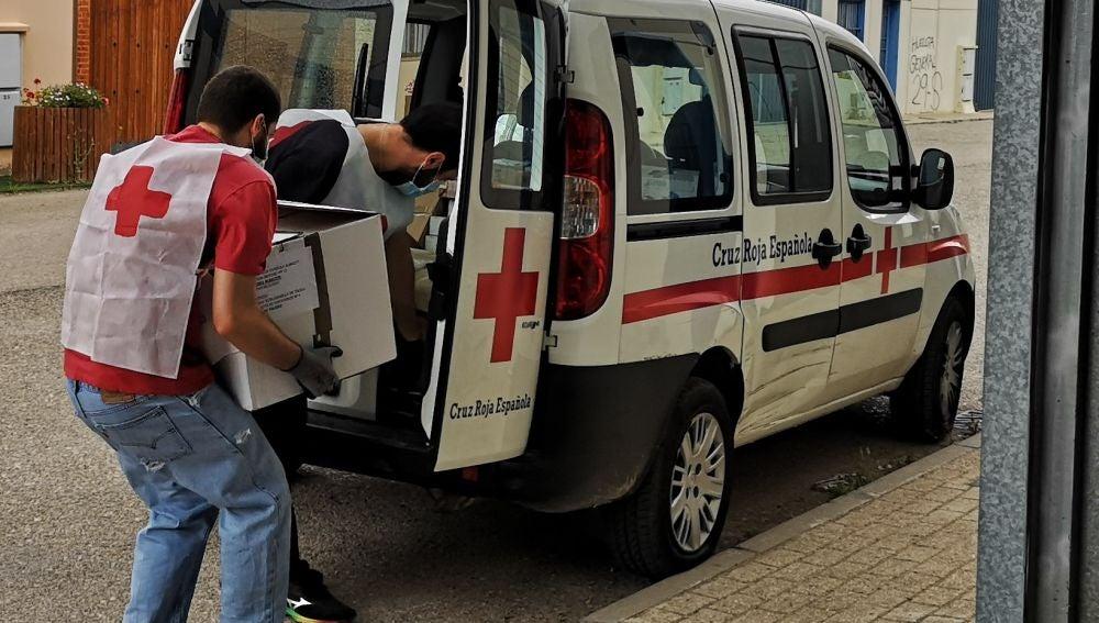 Cruz Roja distribuye en Albacete 68.600 kilos de alimentos a 4.159 personas vulnerables