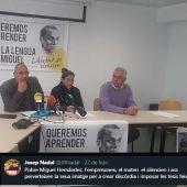 """Miguel Ángel Robles, """"La implementación de esta ley afectará muy negativamente a las capacitación de nuestros hijos"""""""