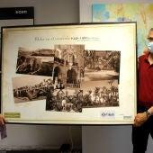 L'Aljub hace una donación de fotos antiguas de Elche al Museo Escolar de Pusol