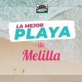 La mejor playa de Melilla