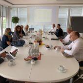 Segunda jornada de reuniones de la delegación encabezada por el Consell de Mallorca con interlocutores turísticos alemanes.