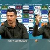 Astronómicas pérdidas de Coca-Cola tras el gesto de Cristiano Ronaldo