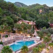 Hotel LJS Ratxó en el pueblo de Puigpunyent, en plena Serra de Tramuntana (Mallorca).