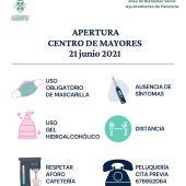 El Ayuntamiento de Herencia prepara la reapertura del Centro de Mayores