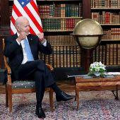Los presidentes de Estados Unidos, Joe Biden, y de Rusia, Vladímir Putin.