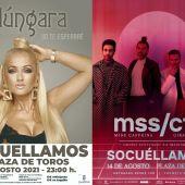 Conciertos de la Feria 2021 en Socuéllamos