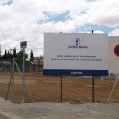 Imagen solar donde se ubicará el centro de salud