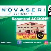 Recomend ACCION!!! con Restaurante Vila