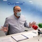 """O Psoe acusa a Tellado de vir a Ourense a correr """"unha cortina de fume"""""""