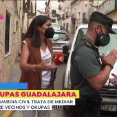 Momentos de tensión entre vecinos y okupas en la localidad de Horche (Guadalajara)