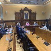 El Pleno municipal en el Ayuntamiento de Gijón