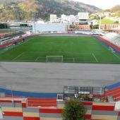 Campo de fútbol Hermanos Antuña de Mieres