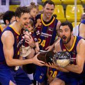 El Barcelona se proclama campeón de la ACB tras vencer el segundo partido al Real Madrid