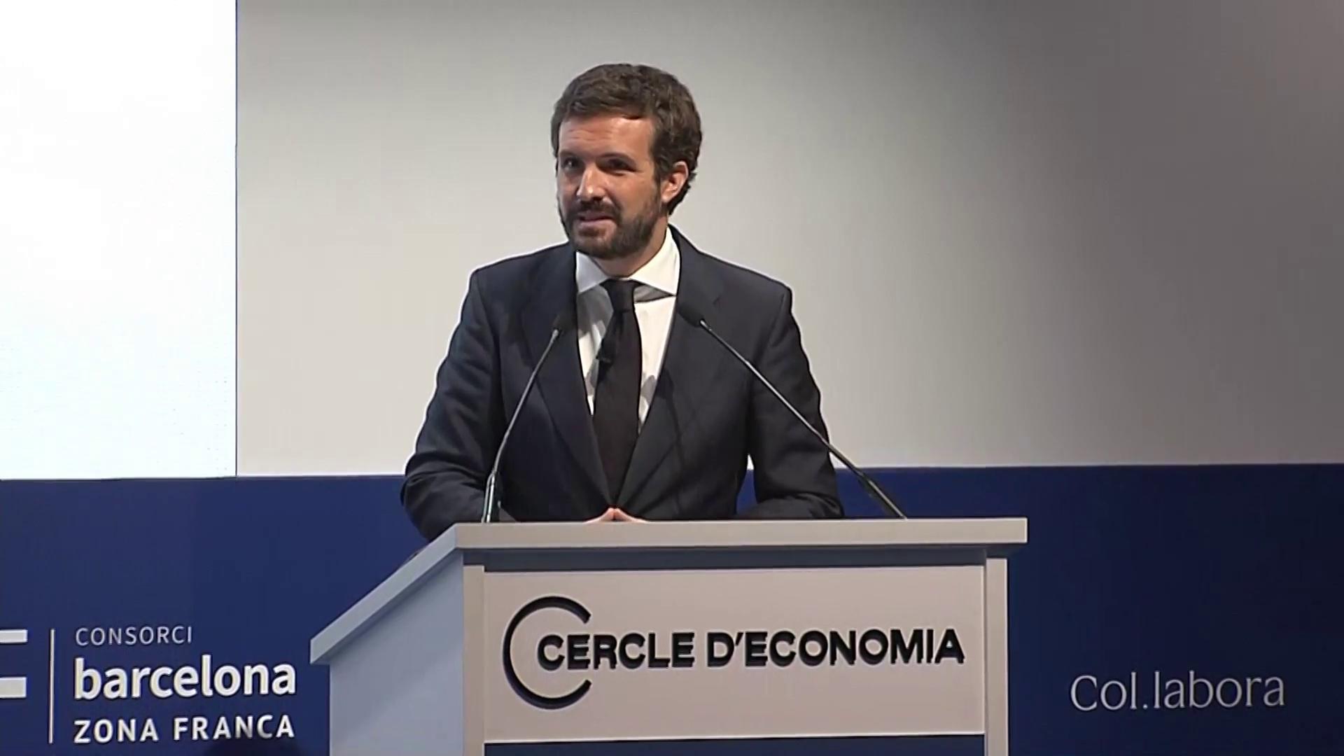 Persona física y un señor de Murcia: El discurso operístico de Pablo Casado