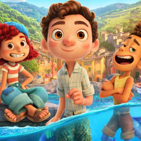 Imagen promocional de la película 'Luca', de Disney Pixar, que llega a Disney+