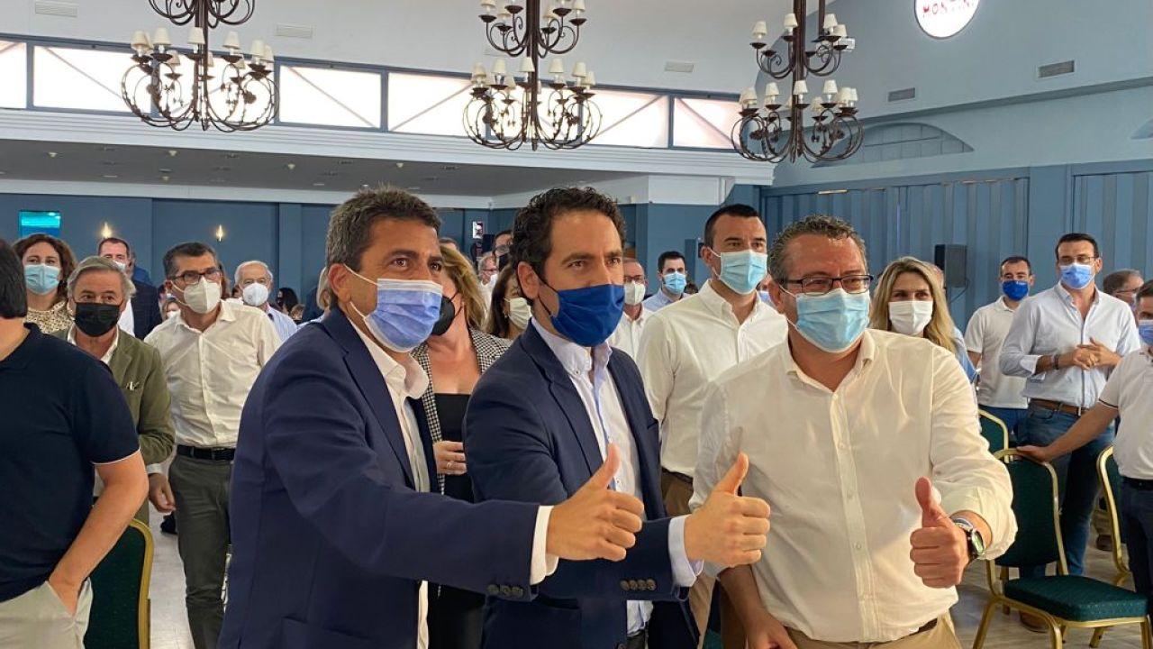 Toni Pérez, nombrado nuevo presidente del PP de la provincia de Alicante
