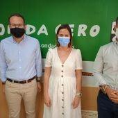 Héctor Díez, Esther Díez y José Navarro