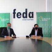 Convenio de colaboración entre Eurocaja Rural y FEDA