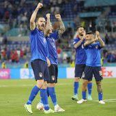 Italia supera a Suiza y ya está en octavos