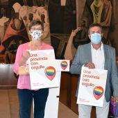 Presentación en la Diputación de Ciudad Real del I Orgullo Provincial