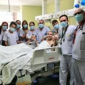 El último paciente covid sale de la UCI del Hospital General