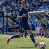 Alberto Fernández con el UCAM Murcia CF en el Besoccer La Condomina