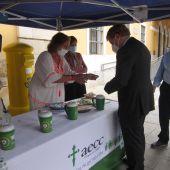 La AECC espera recaudar más de 20.000 euros en Badajoz en la cuestación a favor de los enfermos desfavorecidos