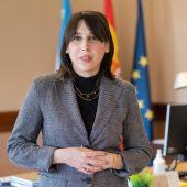 María Jesús Lorenzana. conselleira de Emprego e Igualdade