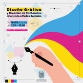 El Ayuntamiento organiza un taller para enseñar a crear contenido para redes socialesS DE DISEÑO GRÁFICO Y CREACIÓN DE CONTENIDOS ORIENTADO A REDES SOCIALES