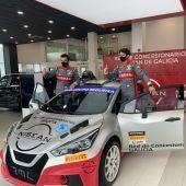 Coque García - piloto de rallyes