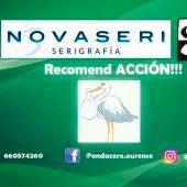 Recomend ACCION!!! con  La Cigüeña