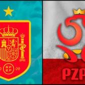 España vs Polonia en la Eurocopa