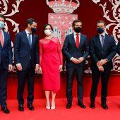 Isabel Díaz Ayuso promete su cargo como presidenta arropada por Pablo Casado y los barones del PP