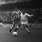 Luis del Sol, mítico futbolista de Real Madrid o Betis.