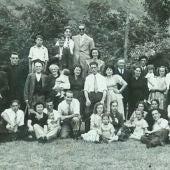 Una de las imágenes antiguas de la asociación vecinal