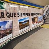Campaña de promoción turística de Ciudad Real en el Metro de Madrid