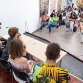 Los participantes del programa 'Centinelas por la igualdad' mantienen un encuentro intercentros