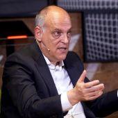 Javier Tebas ha presentado el Informe Económico de la Liga