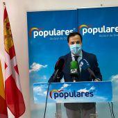Eduardo García Villajos, portavoz del PP