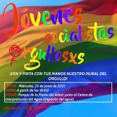 Juventudes Socialistas de Albacete sale a la calle para reivindicar los derechos LGTBI