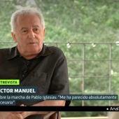 "Víctor Manuel tacha a Pablo Iglesias de ""estorbo"" para Unidas Podemos: ""Era demasiado bocazas"""