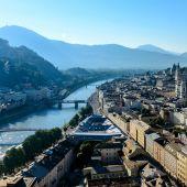Vista de la ciudad de Salzburgo
