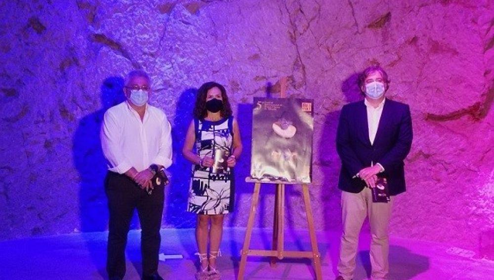 Manresa, Padilla y Sanz en el Museo de Aguas de Alicante